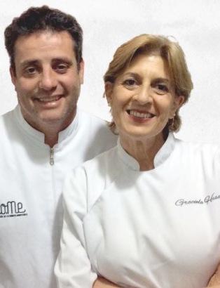 Matías Podestá y Graciela Hisa