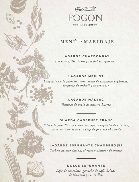 menu lagarde