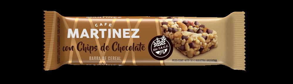 Barrita Café Martínez - Chips de Chocolate