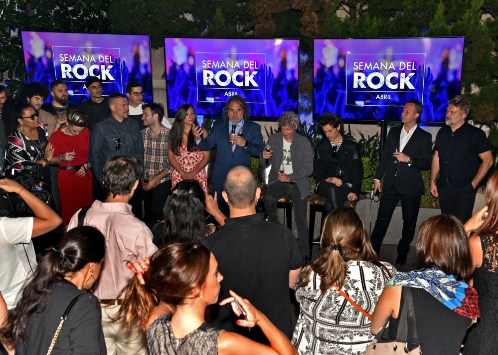 Presentacion Semana del Rock 2