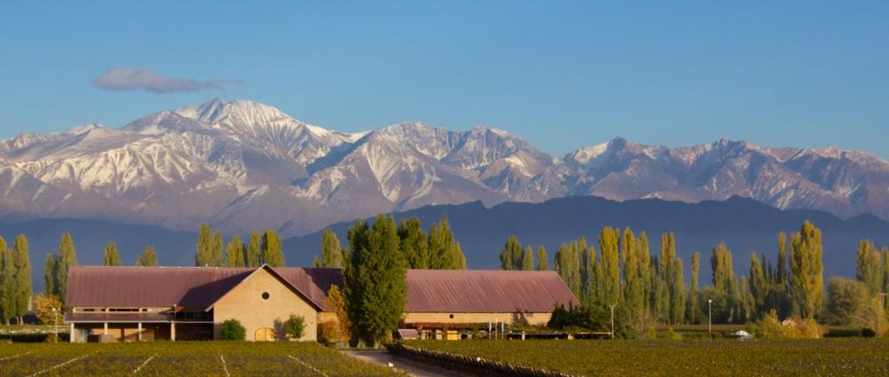 Dominio del Plata winery in Mendoza, Argentina