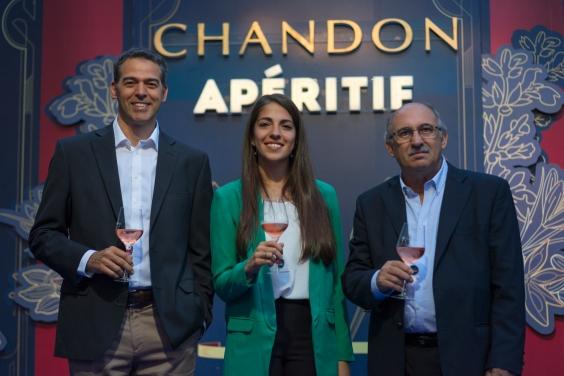 Equipo Enológico Chandon_ Gustavo Sánchez, Ana Paula Bartolucci, Onofre Arcos