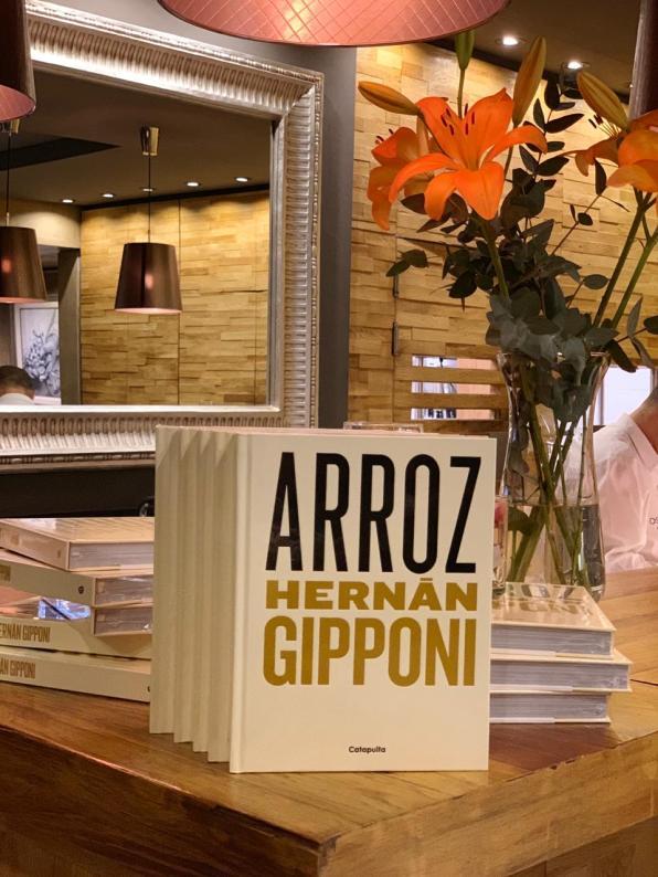 """""""Arroz"""", el libro de Gipponi"""