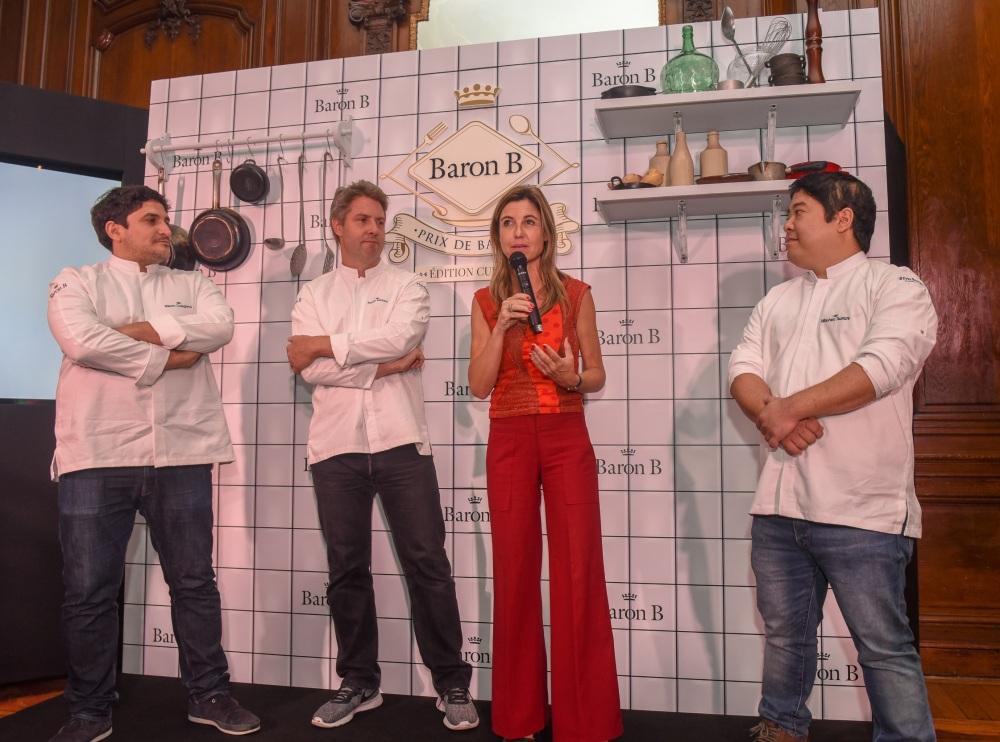 Lanzamiento 2da edición del Prix de Baron B - Édition Cuisine