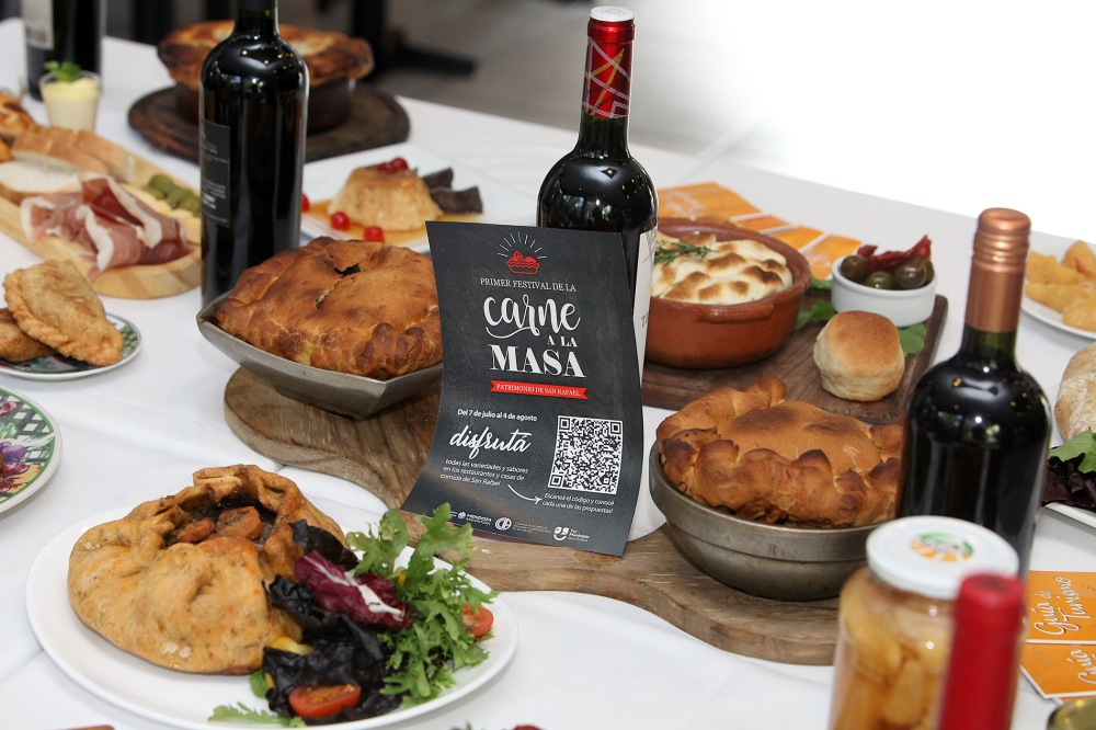 Presentación del festival Carne a la Masa