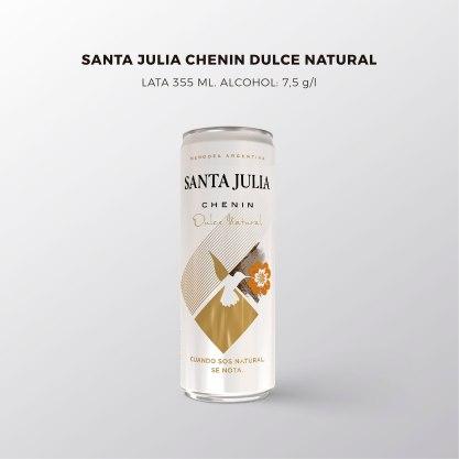 Lata Santa Julia Chenin Dulce Natural copia
